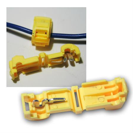 10 Ringkabelschuhe M6 gelb mit Schrumpfschlauch 4,0 bis 6,0 mm² 0,26 EUR//Stück