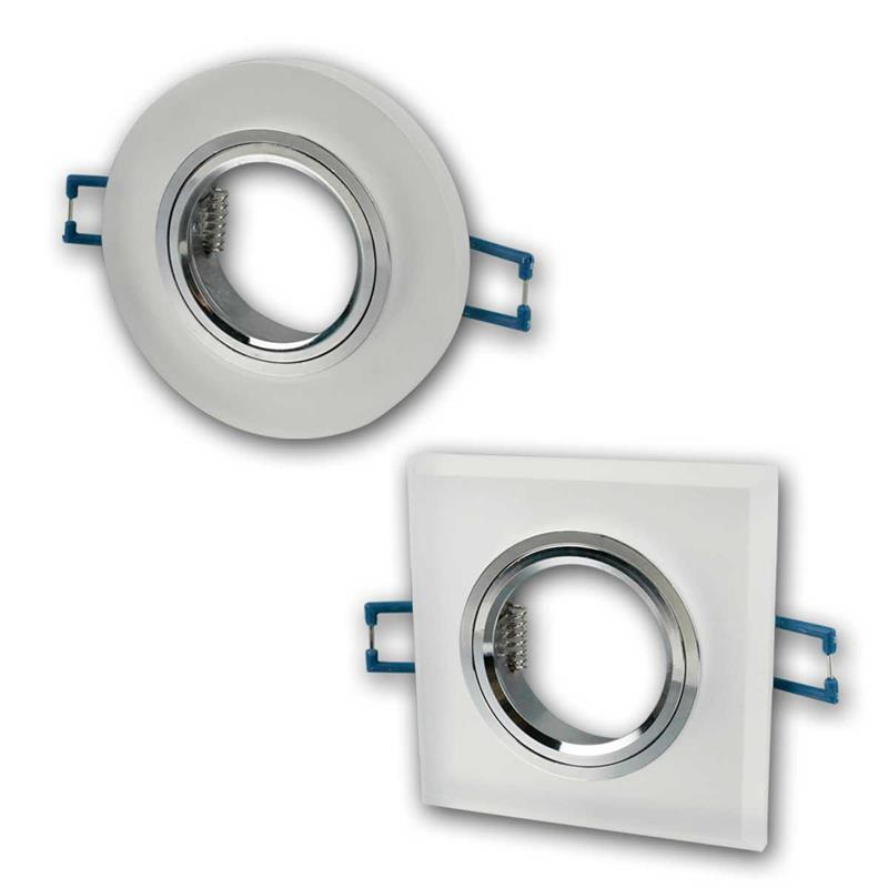 Mounting frame DL-902 | round/square | 90mm | for MR16