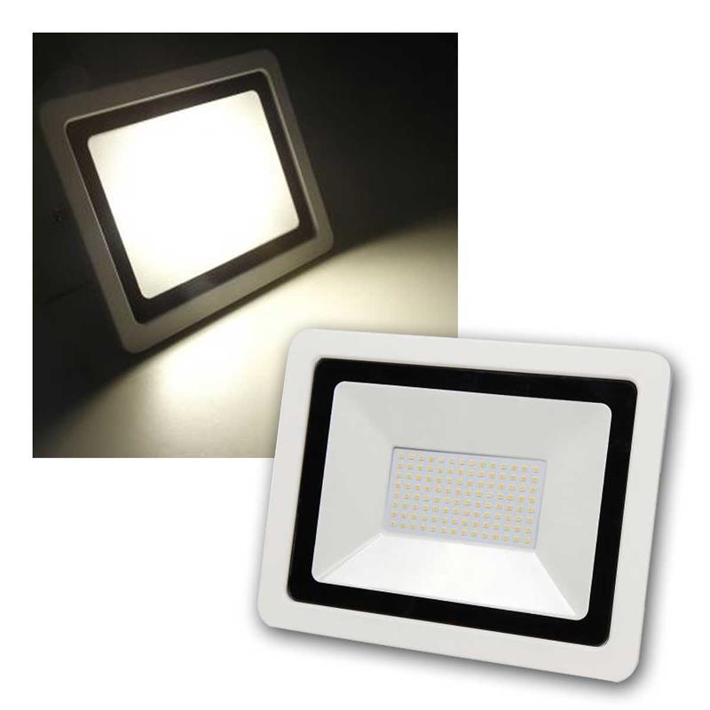 led fluter smd slim 230v 100w 6700lm 3000k ip44. Black Bedroom Furniture Sets. Home Design Ideas