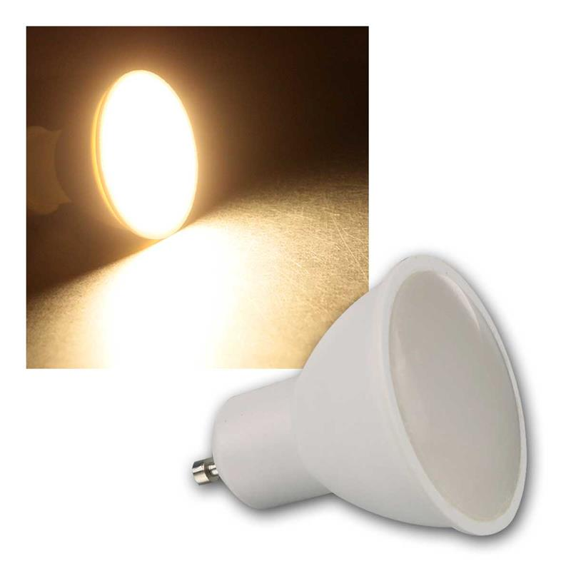 LED spotlight PV-50, GU10 | 230V/5W | 110°, 400lm, 3000K