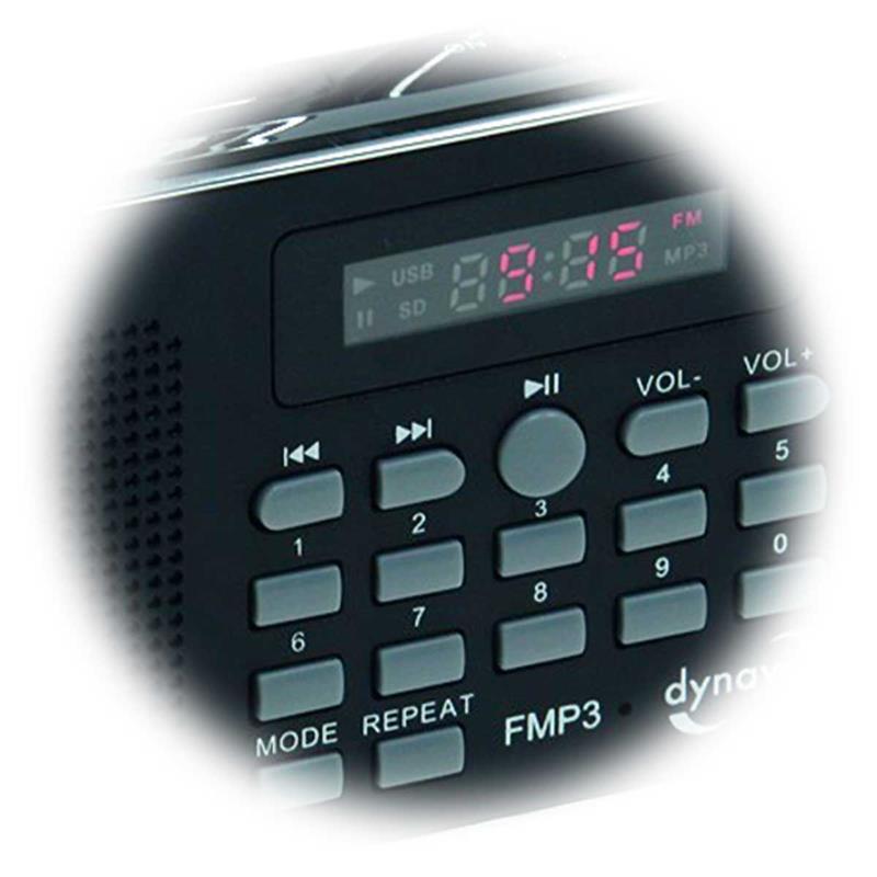 Portable Radio CT-3 | USB, SD, FM radio | Li-ion battery