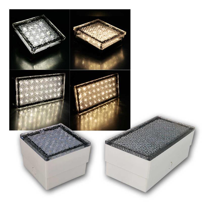 LED Bodenleuchte Pflasterstein McSHINE | 10x10/20x10cm