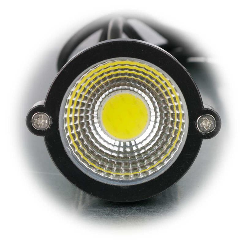 2x LED Gartenleuchte GL-50W | 230V Gartenspot | Außenlicht