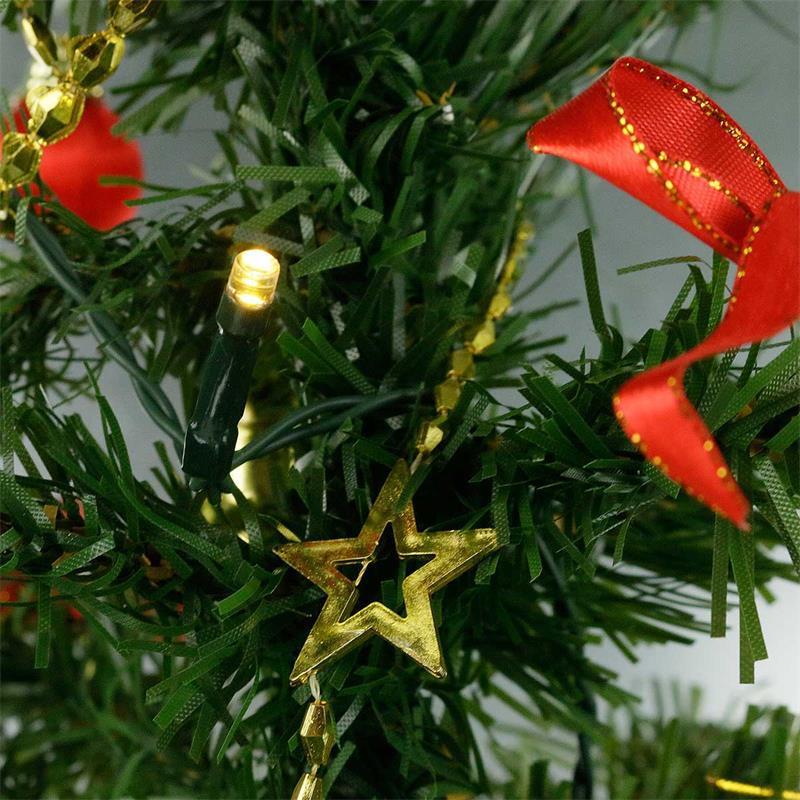 Led tannenbaum mini tree batterie timer 60cm 2 farben - Adventsdekoration fensterbank ...