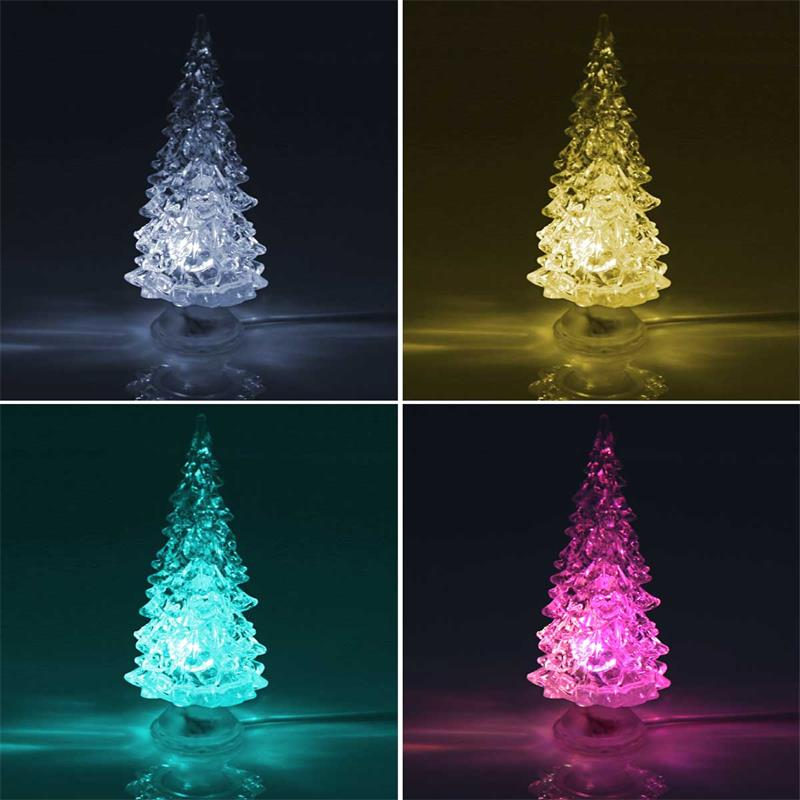 Led Tannenbaum.Led Decolight Christmas Tree Color Change Led Battery
