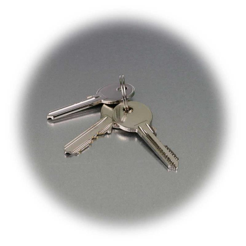 Profile security lock cylinder, 5 types | 3 beard keys