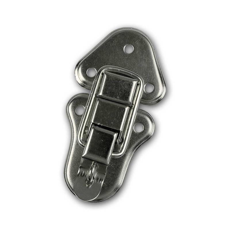 Body closure, metal, chrome plated   95x50x14mm (l-w-h)