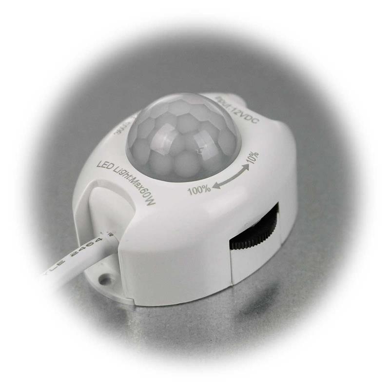 Bewegungsmelder CT-PIR DIM | 12V, 1-60W | mit Dimmer
