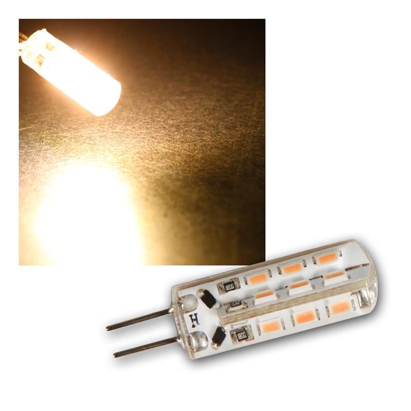 10er Set LED Birne SILICIA G4-Sockel | G4 LED Leuchtmittel