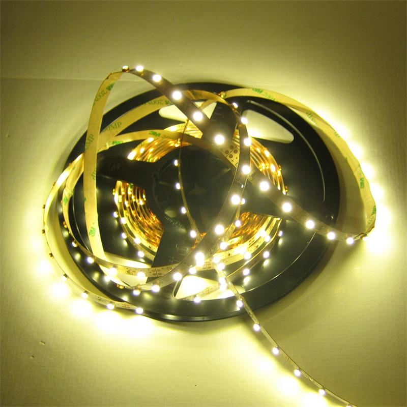 120cm FLEX SMD Streifen 72 LED warmweiß PCB-WEISS