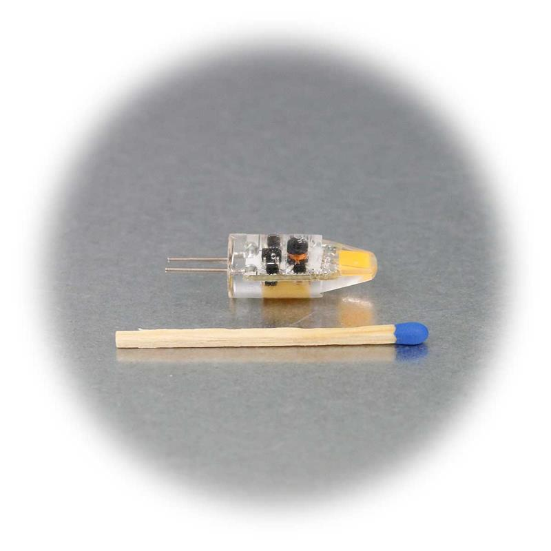 3er Set G4 LED Birne Silicia COB | G4 Stiftsockellampe LED