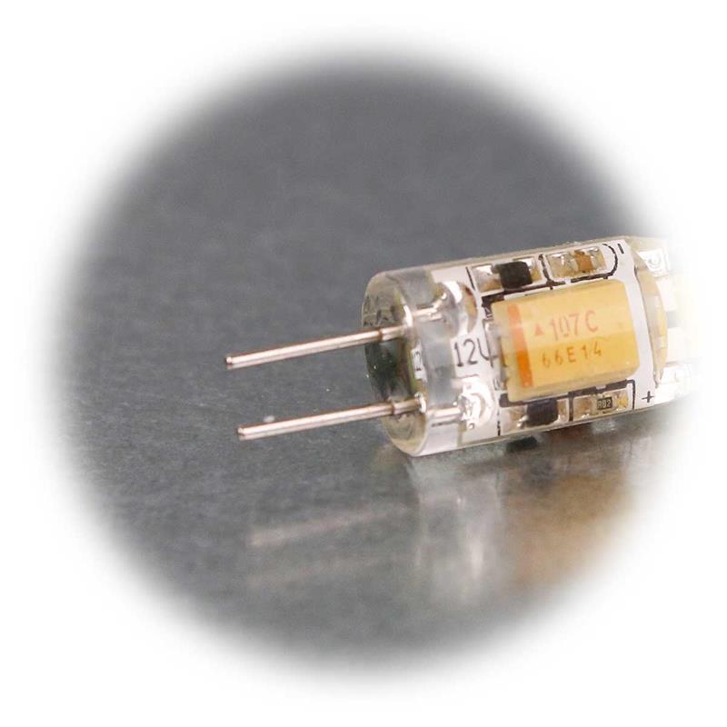 Set of 5 G4 LED lamp Silicia COB | G4 pin-base bulb