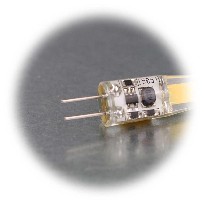 3er Sparpack G4 LED Birne Silicia COB | G4 LED Stiftsockel