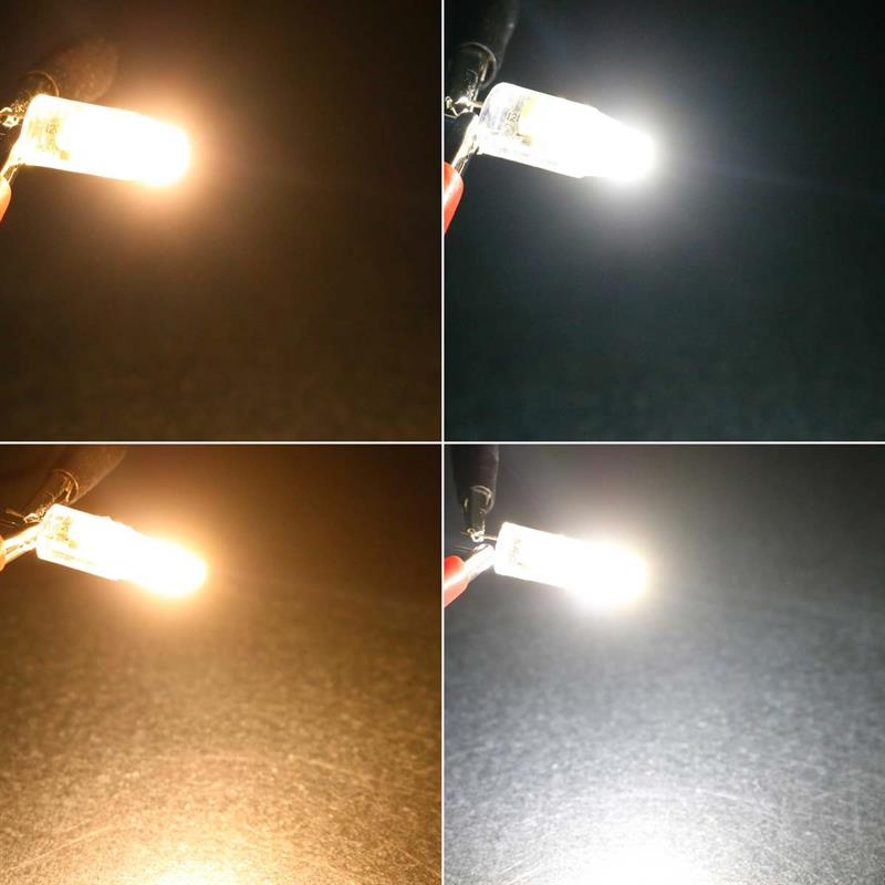 G4 LED Mini Birne Silicia COB 12V 110//200lm Leuchtmittel Stecksockellampe Lampe