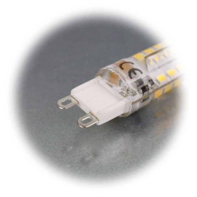 5er Sparpack G9 LED Lampe SILICIA   G9 LED Stiftsockellampe
