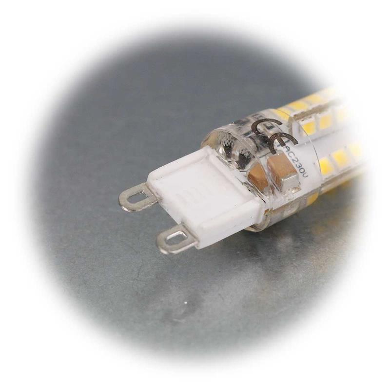 3er Set G9 LED Stiftsockelleuchte SILICIA | G9 Leuchtmittel