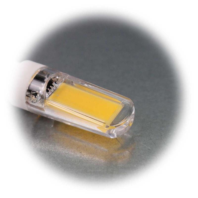 3er Sparset G9 LED Birne Silicia COB | G9 LED Stiftsockel