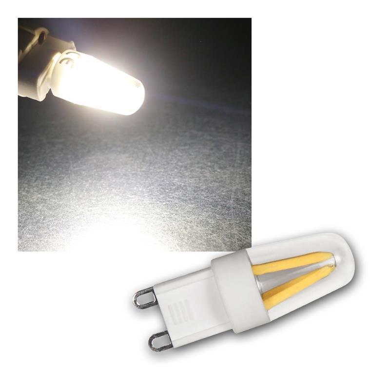 G9 LED Birne Filament | neutralweiß | 230V/1,9W, 180lm, 360°