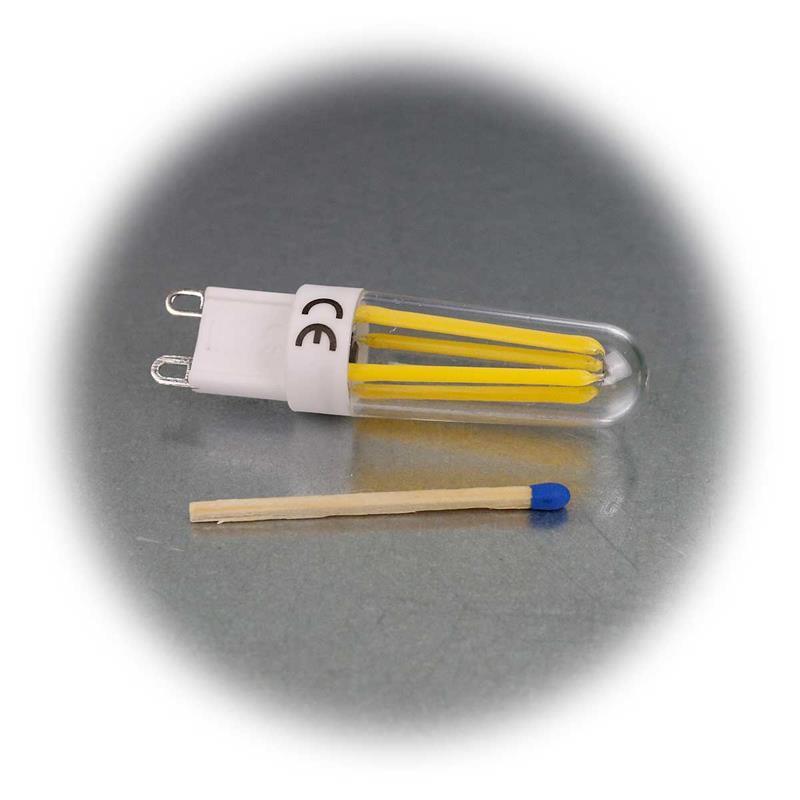 3er Sparset G9 LED Birne Filament | G9 Stiftsockelleuchte