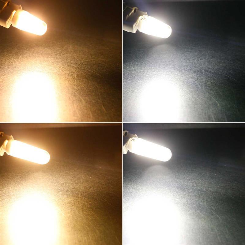 G9 LED Birne Filament   Stiftsockellampe   180/300lm 360°