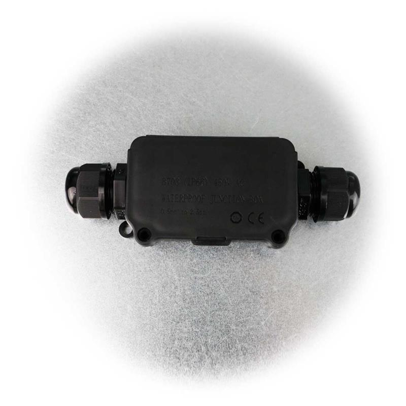 Kabelverbinder-Box für 2Kabel | wasserdicht| 2-fach Kabelbox
