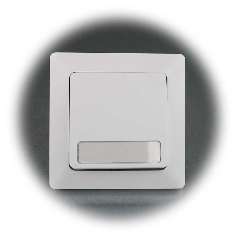 MILOS bell push-button | screw connection | flush with frame