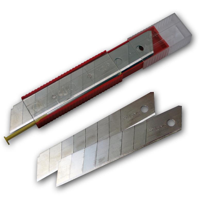 10er Pack Erstatzklingen im Spender, 18mm