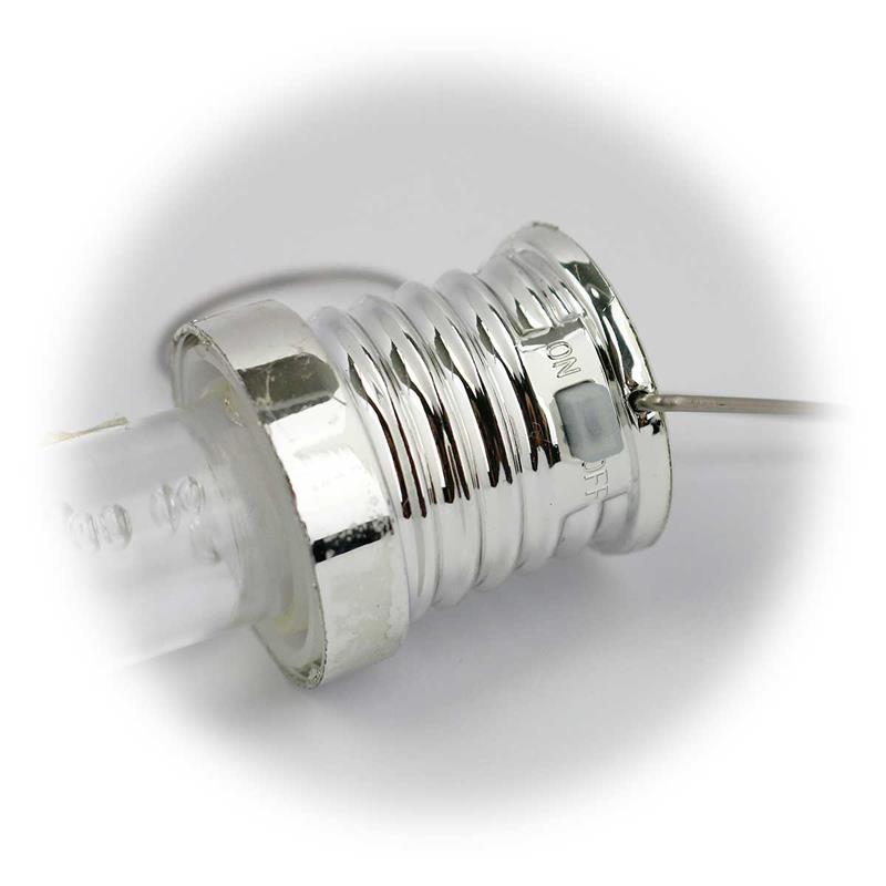 5er Set RGB LED Hängeleuchte Blubber-Optik | Solar Dekolicht