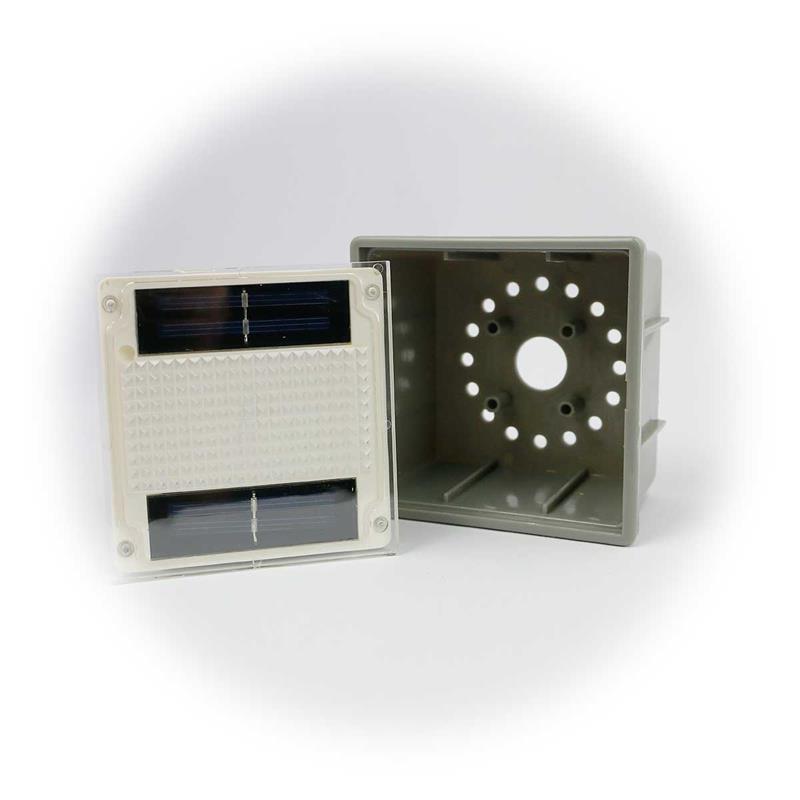 3er Set LED Solarleuchte Pflasterstein | LED Bodenleuchte