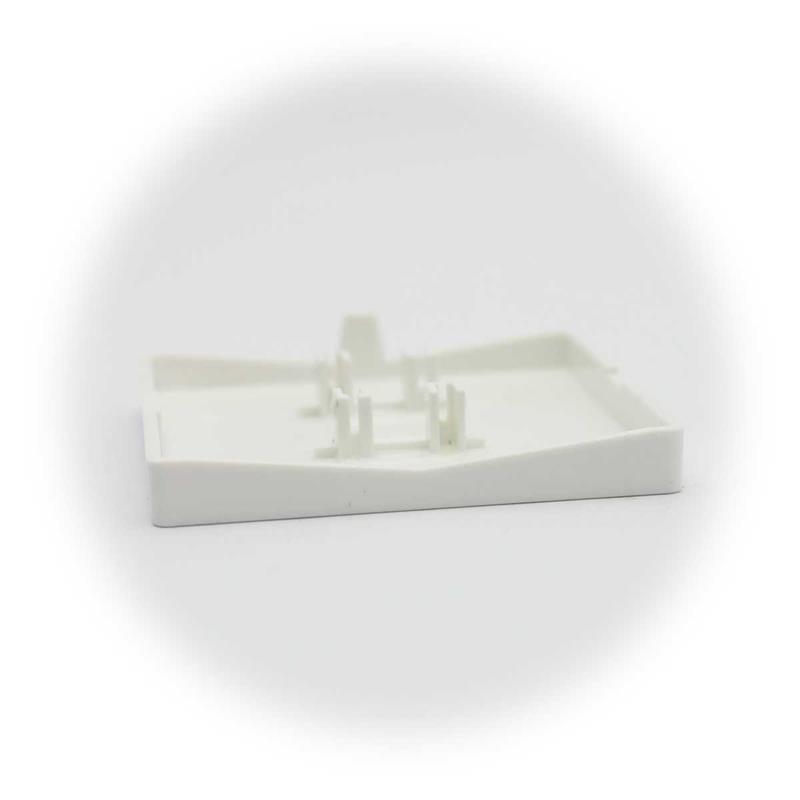 CUP Abdeckung mit Klingel-Symbol, weiß | einteilige Wippe