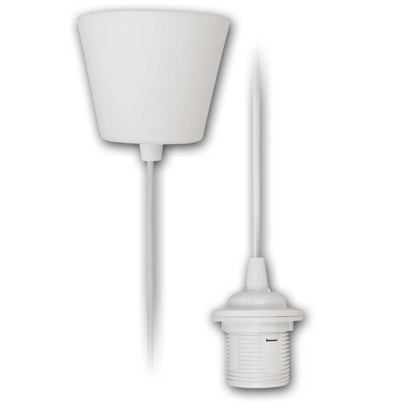 Lampenaufhängung E27 | max. 60W | weiß
