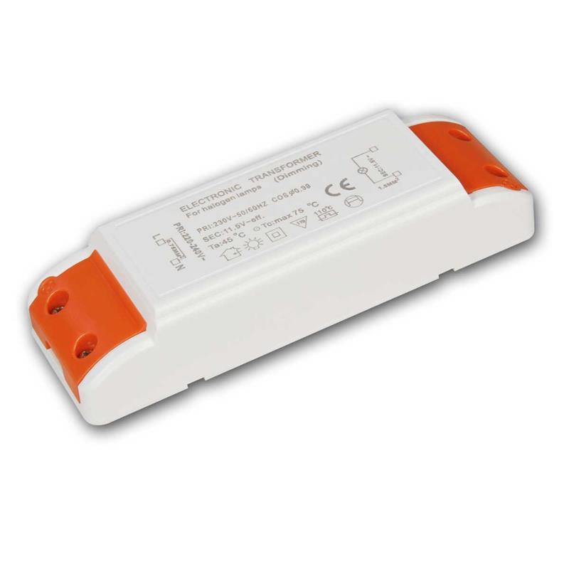 Halogen Transformator | 10-105W | dimmbar | 230V auf 12V AC