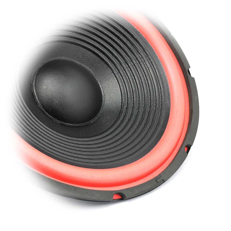 Bass- Lautsprecher | rote Foam Sicke |  Ersatzlautsprecher