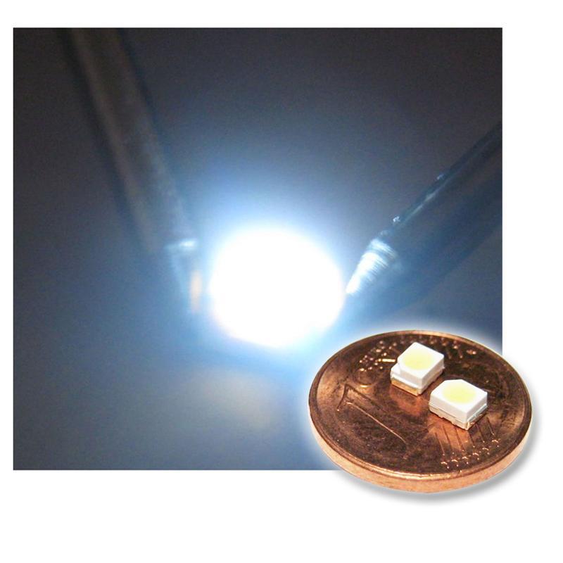 "10 SMD LED 3528 ultra-weiß Typ ""WTN-PLCC2-1300uw"""