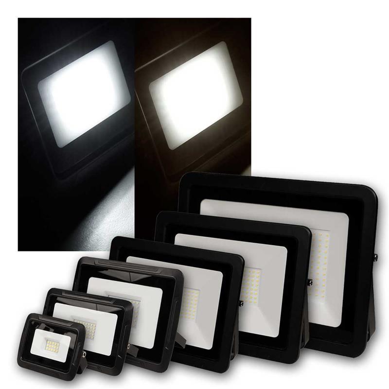 LED flood light SUPER SLIM   water-resistant 10 up to 300W