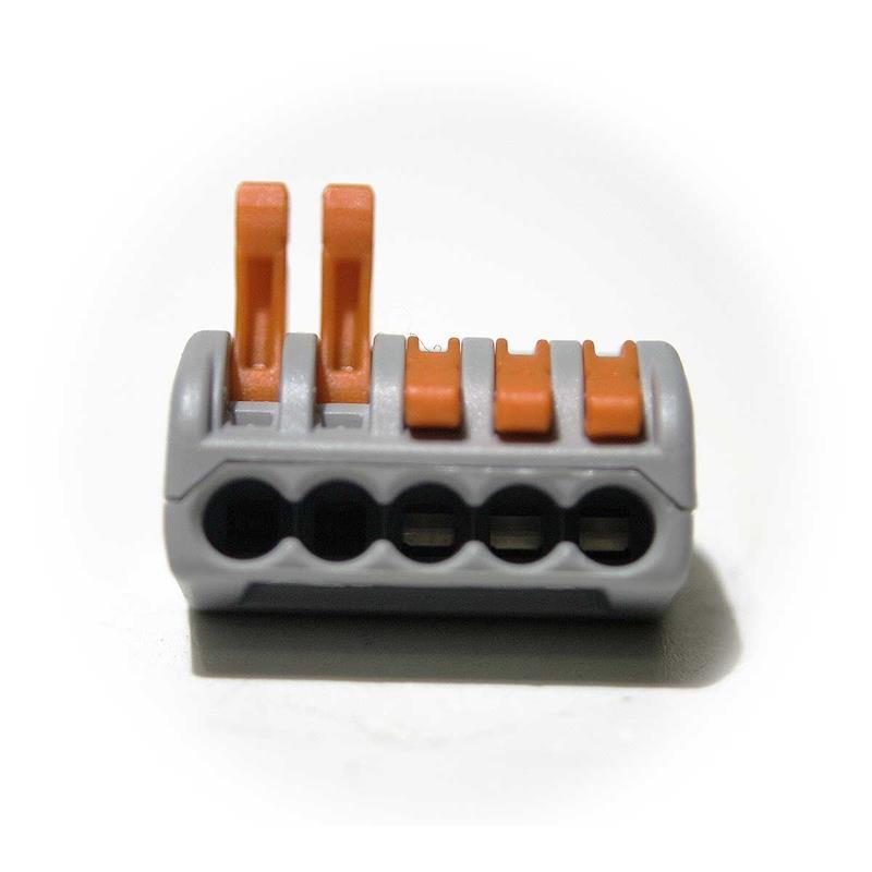 Stromdiebe 50er Pack Abzweigverbinder Kabel Schnellverbinder Blau 1,5-2,5 mm²