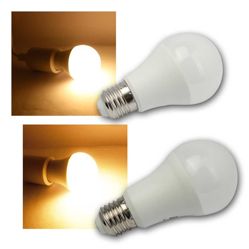 3er Set 5 Watt SMD LED Leuchtmittel Glühbirne warm-weiss E14 Strahler Leuchte