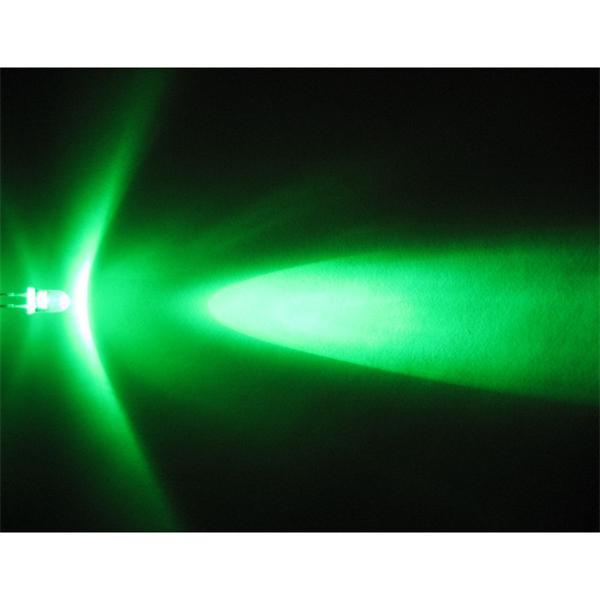 5mm LED mit punktuellen Öffnungswinkel