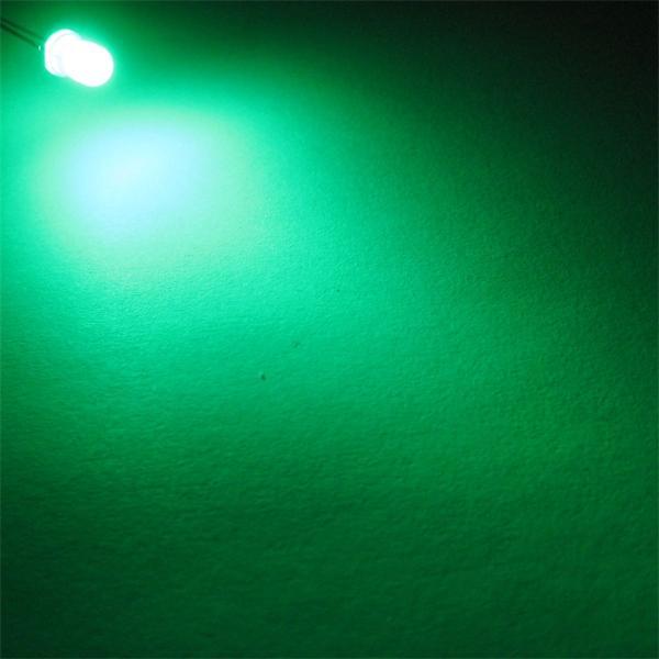 5mm LED mit breit abstrahlenden Öffnungswinkel