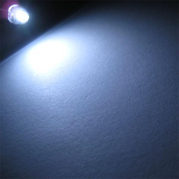 Flachkopf-LED mit breit abstrahlenden Öffnungswinkel