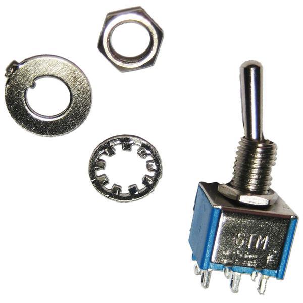ideale Lösung für Ein/Aus-Schalter oder Umschalter