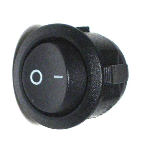 Mini-Wippenschalter 1-polig EIN/AUS RUND Schalter