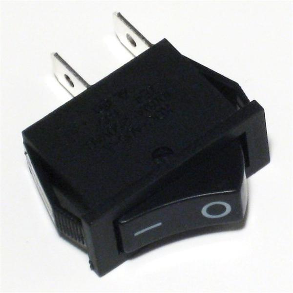 1-poliger Wippschalter für Snap-In Montage als Ein/Aus-Schalter