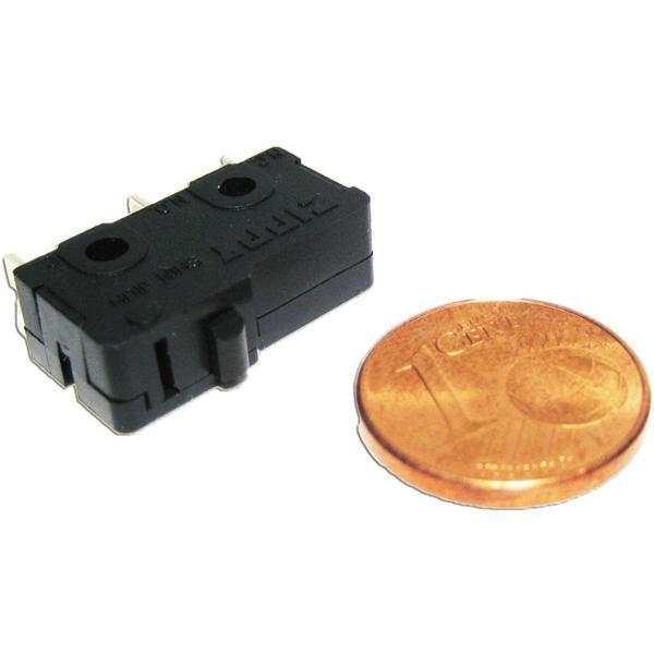 Miniaturschalter mit einer Schaltleistung von 125VAC/5A oder 250VAC/3A