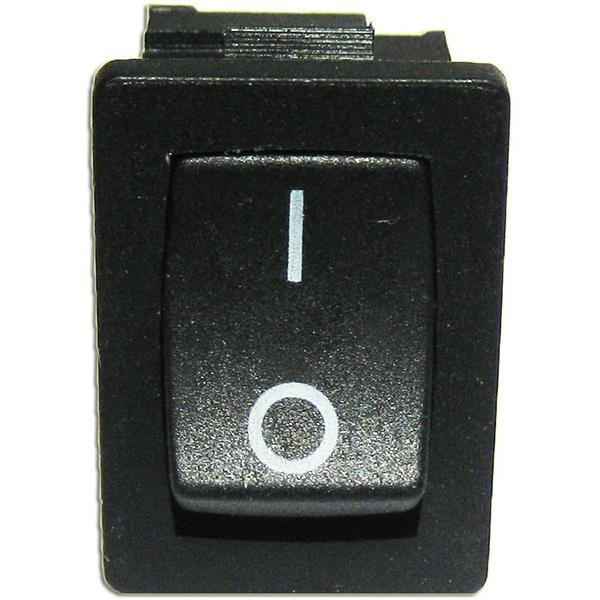 Wippenschalter 1-polig EIN/AUS ECKIG Wippschalter