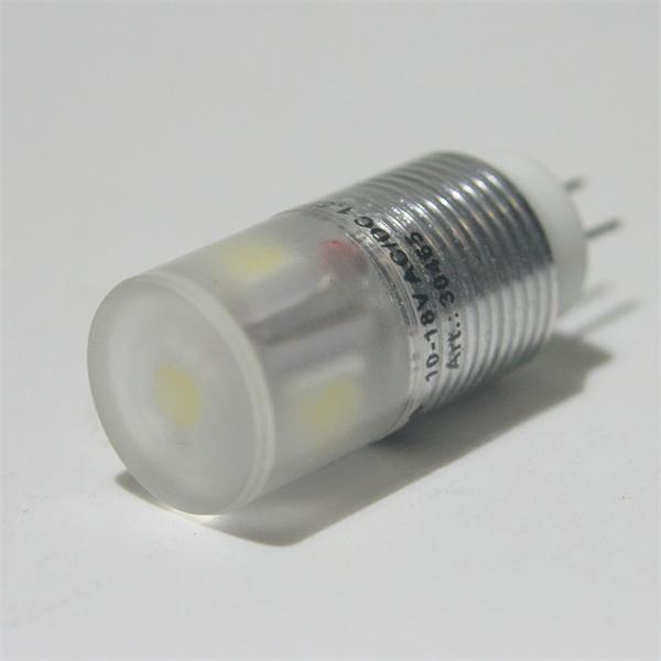 G4 Stiftsockel Led 12V AC/DC hat einen Durchmesser von 14,5mm und 30,0mm Länge