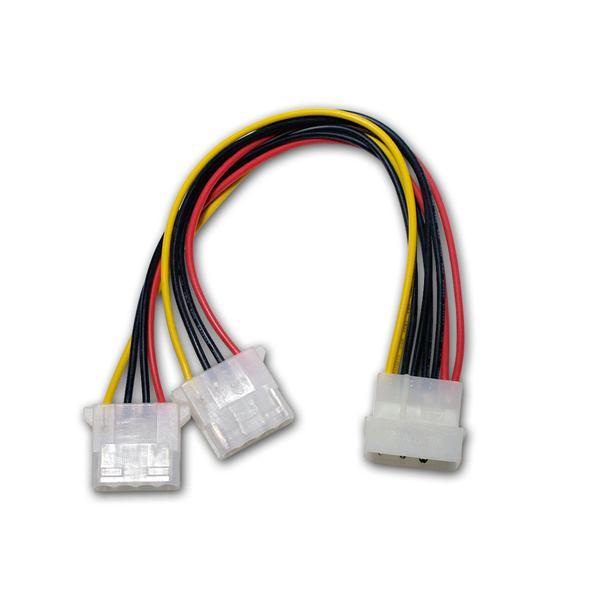 Floppy Y-Stromversorgungskabel Weiche Adapter