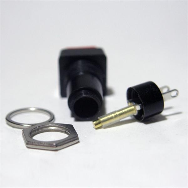 1-poliger Taster mit hoher Schaltpräzision