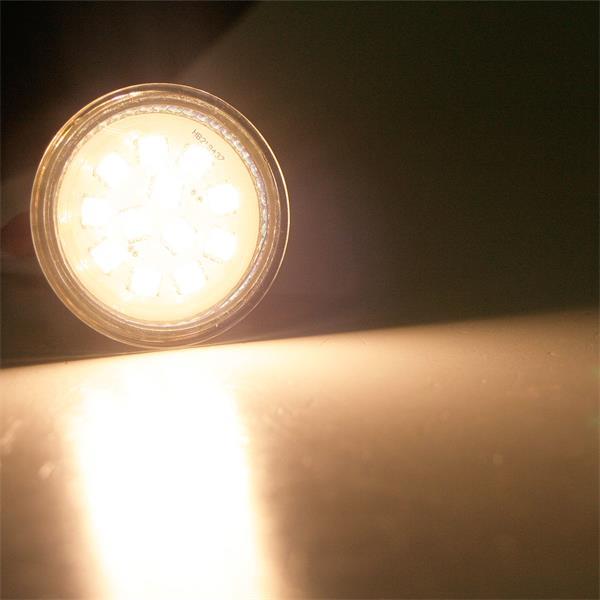 LED Leuchtmittel MR16 mit starken 190lm vergleichbar mit 30-40W Halogenspiegellampen
