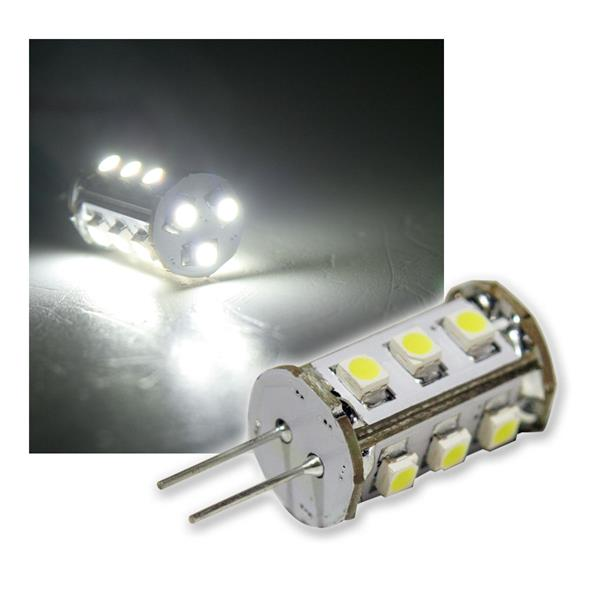 G4 LED-Lampe 15x 3528 SMD LEDs daylight 105lm